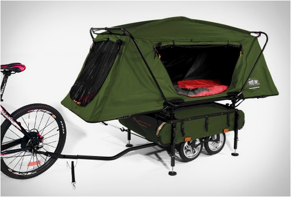 Nope, sorry mom, not taking this bike camping.