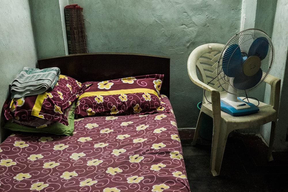 simple room in village