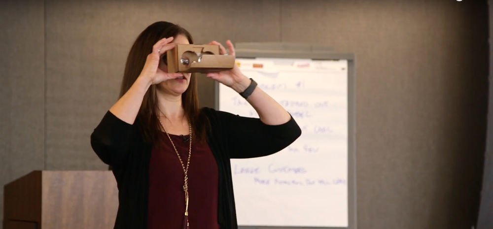 designing experiences to help you think about technology and the future of business in a new way