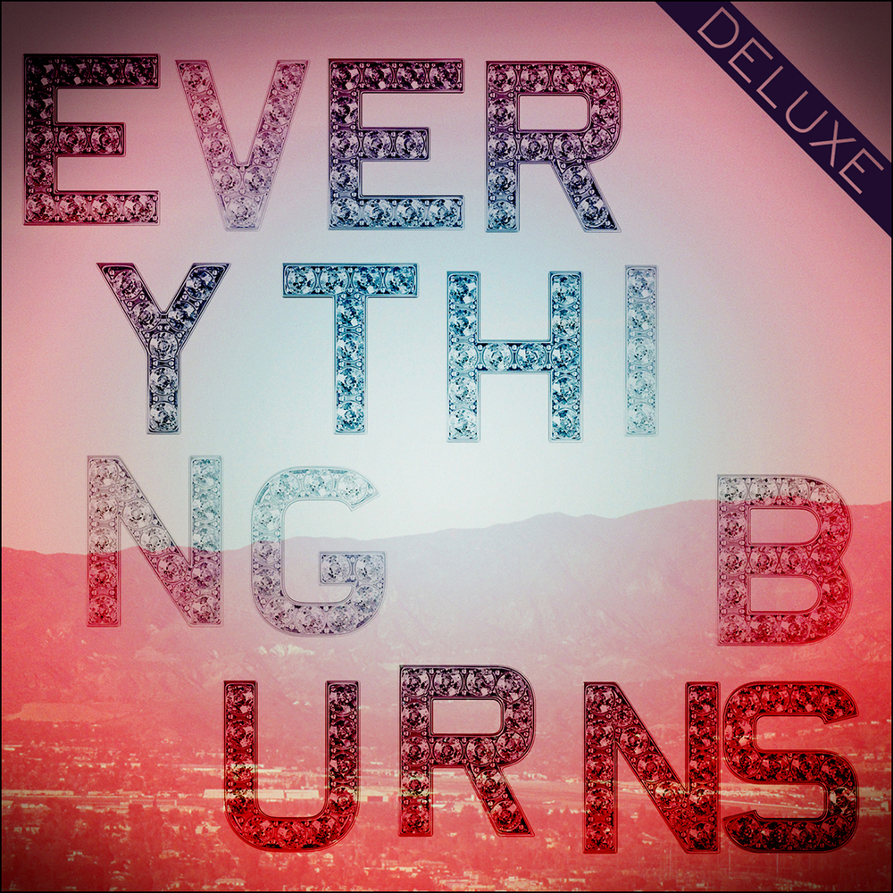 EVERYTHING BURNS DELUXE   01 - New Solution 02 - Time Goes By 03 - Still Young 04 - I'll Take Rain 05 - Say It Out 06 - Drag You Down 07 - Man Inside 08 - Calm Inside The Storm 09 - Silver 10 - Everything Burns (Intro.) 11 - Everything Burns 12 - I Have Been Redeemed (Reprise) 13 - To Those Who See 14 - You Keep Me Singing 15 - No Regrets 16 - Man Inside (Acoustic) 17 - Everything Burns (Edit) 18 - New Solution (Single Version) 19 - Time Goes By (Single Version) 20 - Still Young (KCORIHS Remix) 21 - New Solution (KCORIHS Remix)