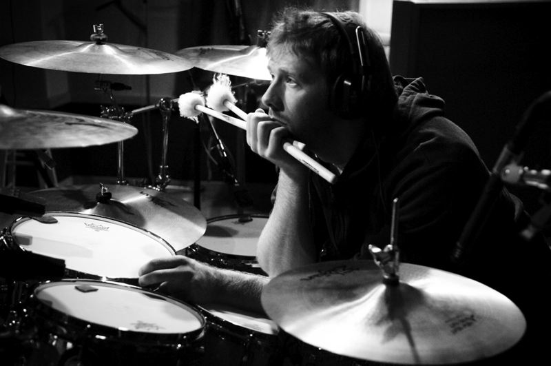 C. SHIROCK / SHIROCK Making of Everything Burns Album  Chuck Shirock Photographed by: Josh Reeder