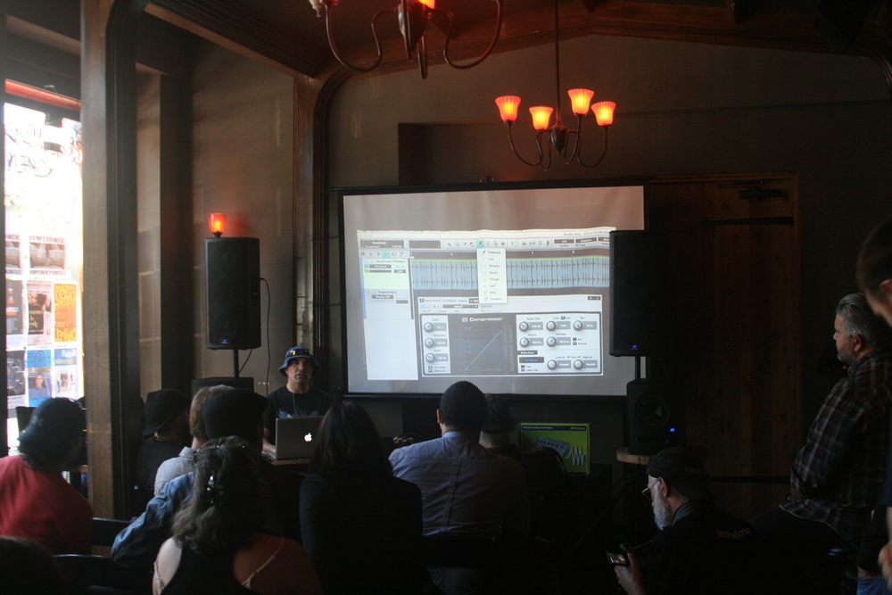 PreSonus Studio One workshop