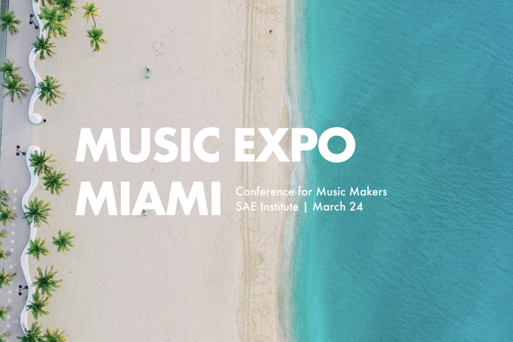 Music Expo Miami March 24 Banner