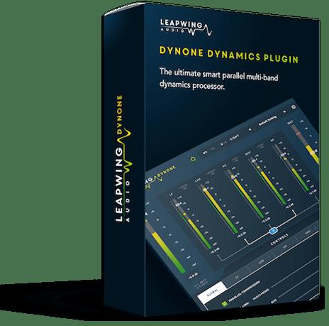 Dyneone Dynamics Plugin - The smart parallel multiband dynamics processor.