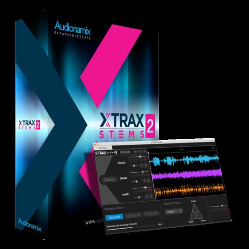 Audionamix XTRAX STEMS 2 - XTRAX STEMS 2