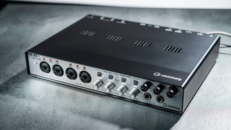 Steinberg UR-RT4 - Audio interface with real Rupert Neve Designs transformers.