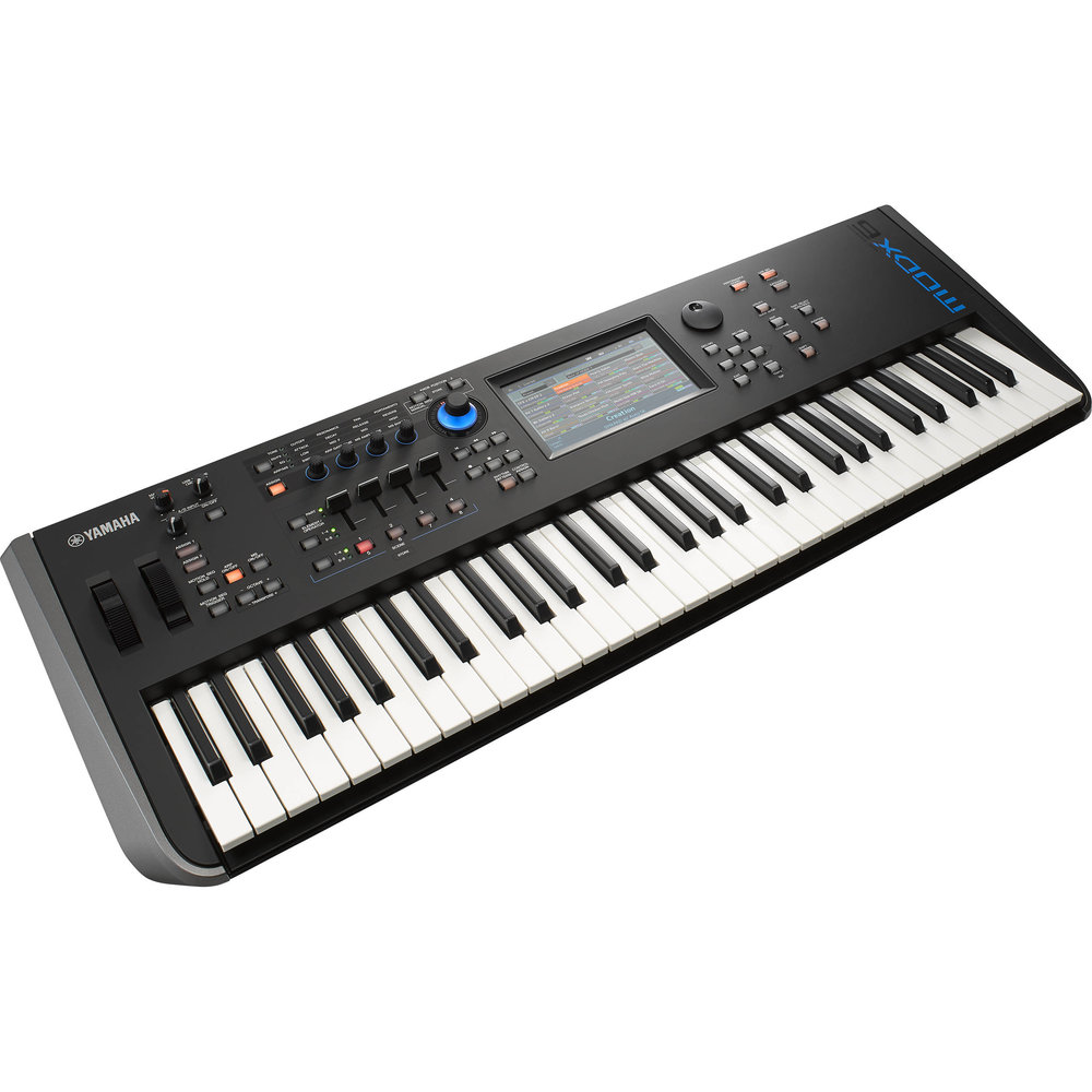 Yamaha MODX6 - The MODX uses the same technology powering the flagship MONTAGEwith two Iconic Sound Engines modernized for amazing sound playback and complex sound design.