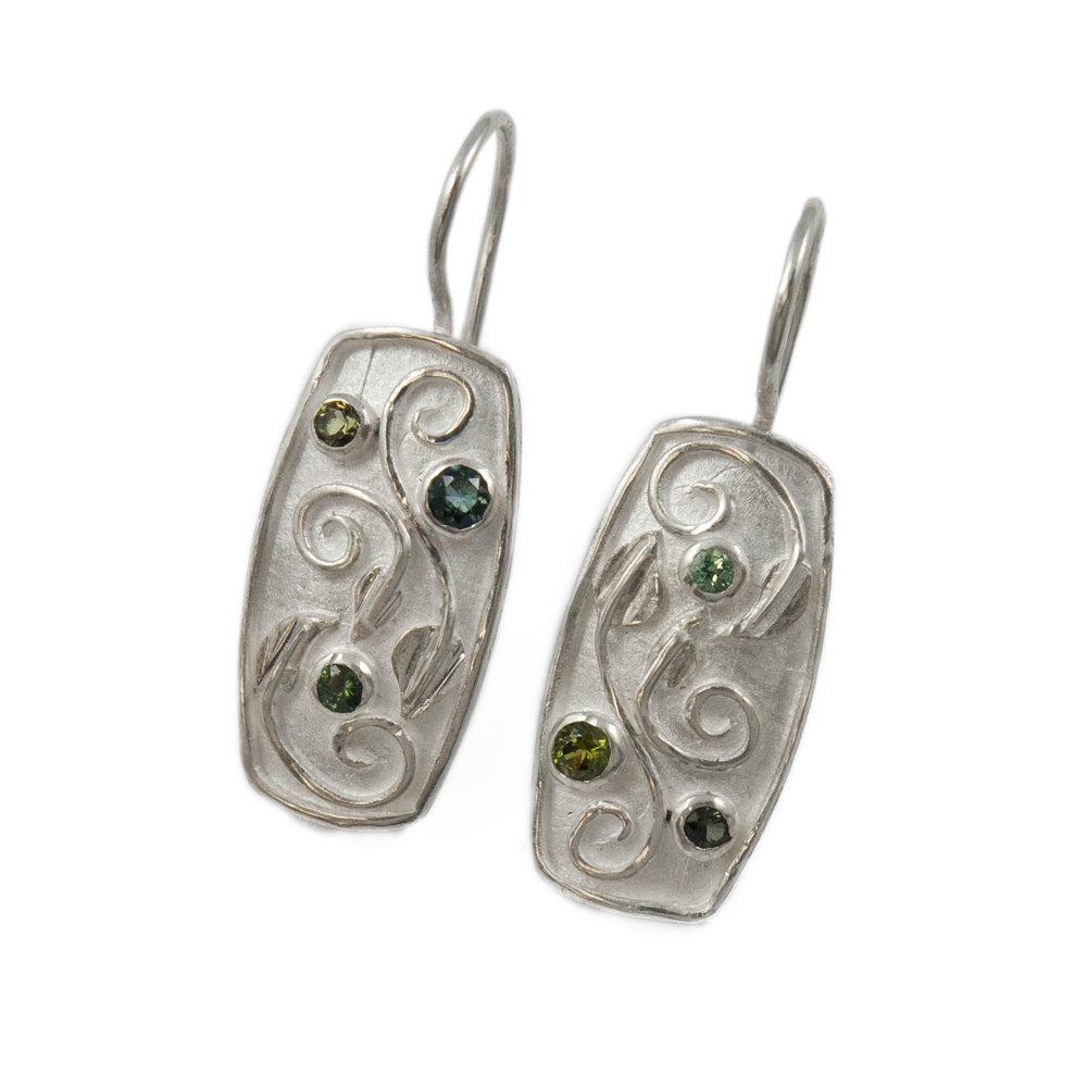 FLORA ss leaves swirl earring green stones EDITED.jpg