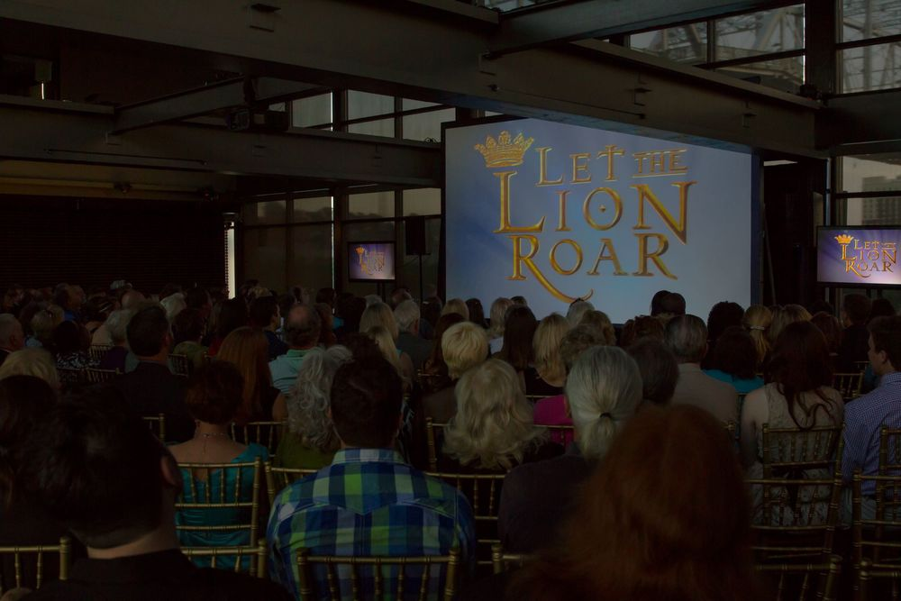 Let The Lion Roar launch campaign event