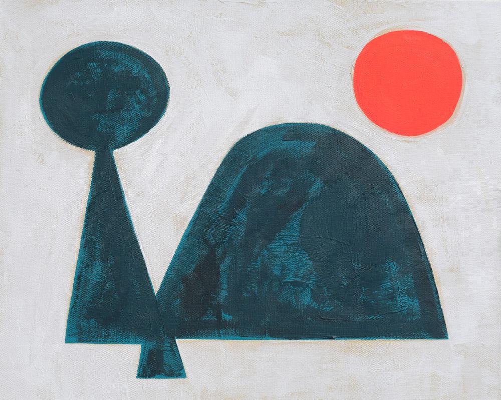 """Untitled (064A4824)"" Acrylic on Canvas 16"" x 20"" $3k"