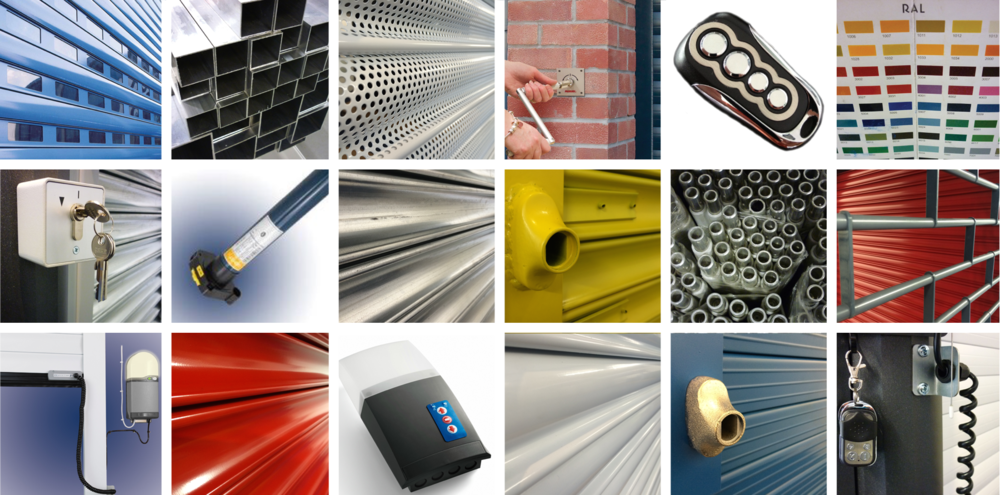 Hundreds of colour and finish options available across Aluroll's Roller Garage Doors & Security Shutters