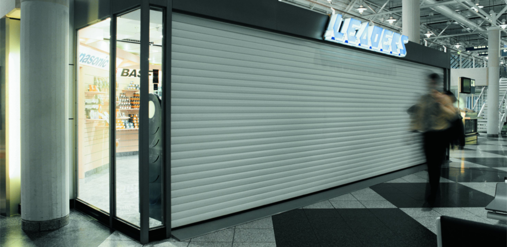 Aluroll T77 Security Shutter Installed