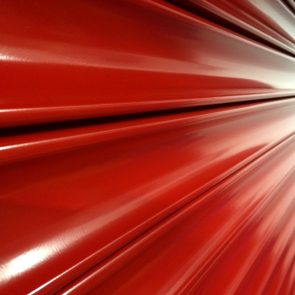 Fire Shutter Red Slats