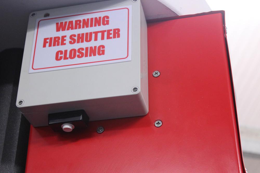 Fire Shutter Alarm System