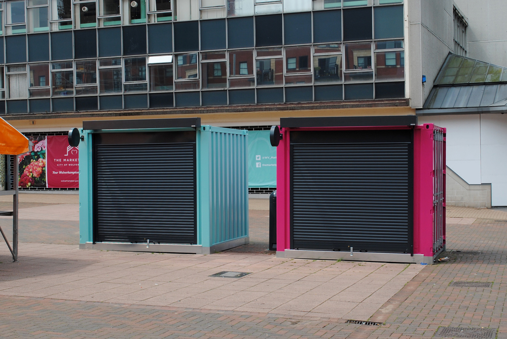 Wolverhampton Market Security Shutters