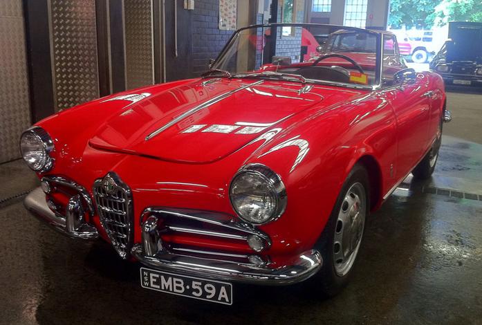 1959 Giulietta Spider