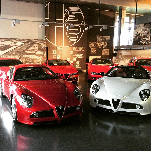 I think this is what heaven looks like #alfaromeo #alfa #automoda #exoticcars #heaven #paradise #8c #fivedock #mechanic