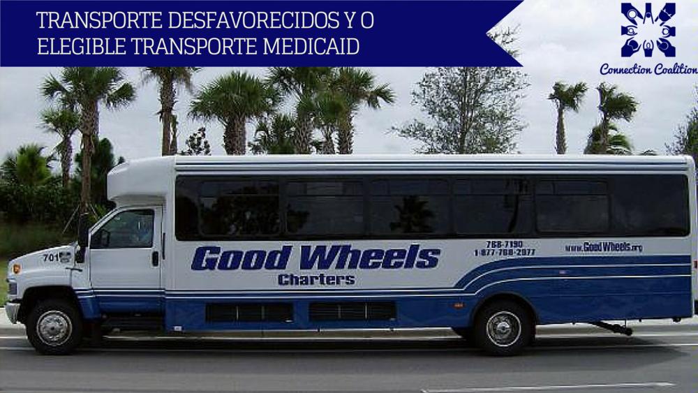 Haga clic en la imagen para acceder al formulario de cortesía de Buena Ruedas y la Coalición de conexión .