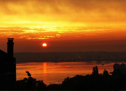 Ocean Sunset Tacoma WA
