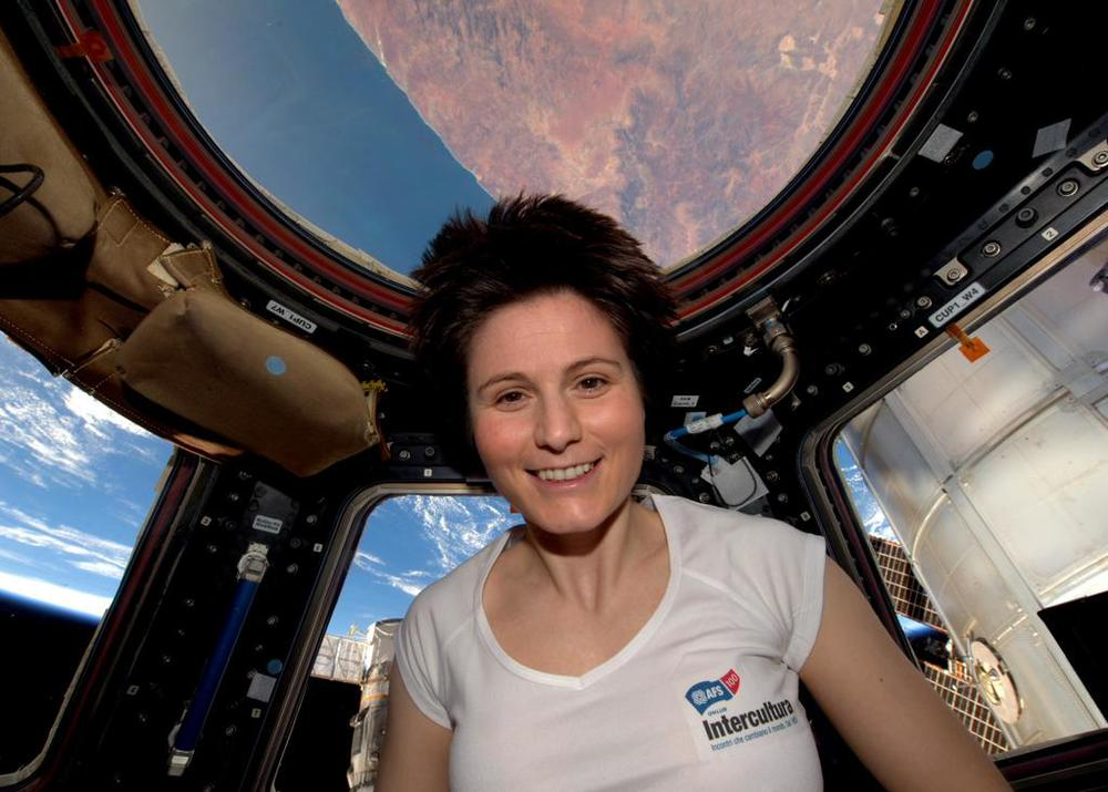 Samantha Cristoforetti, European Space Agency Astronaut on the International Space Station