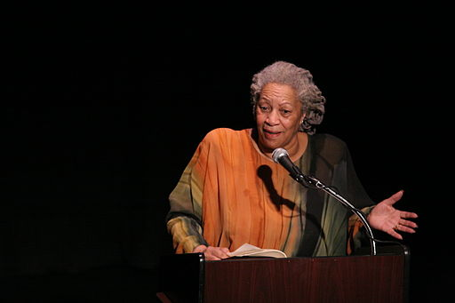 Toni Morrison - by Angela Radulescu (originally posted to Flickr as Toni Morrison (1)) [CC BY-SA 2.0 (http://creativecommons.org/licenses/by-sa/2.0)], via Wikimedia Commons