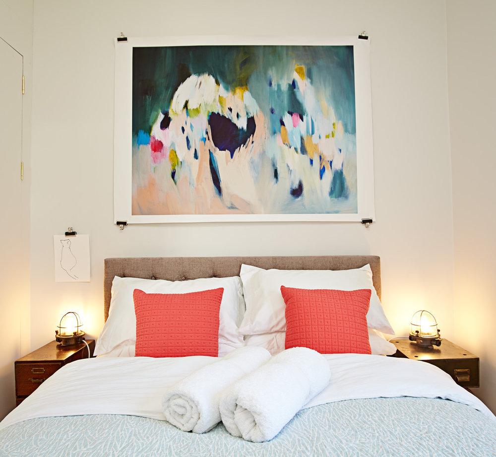 Stylish, luxury bedroom