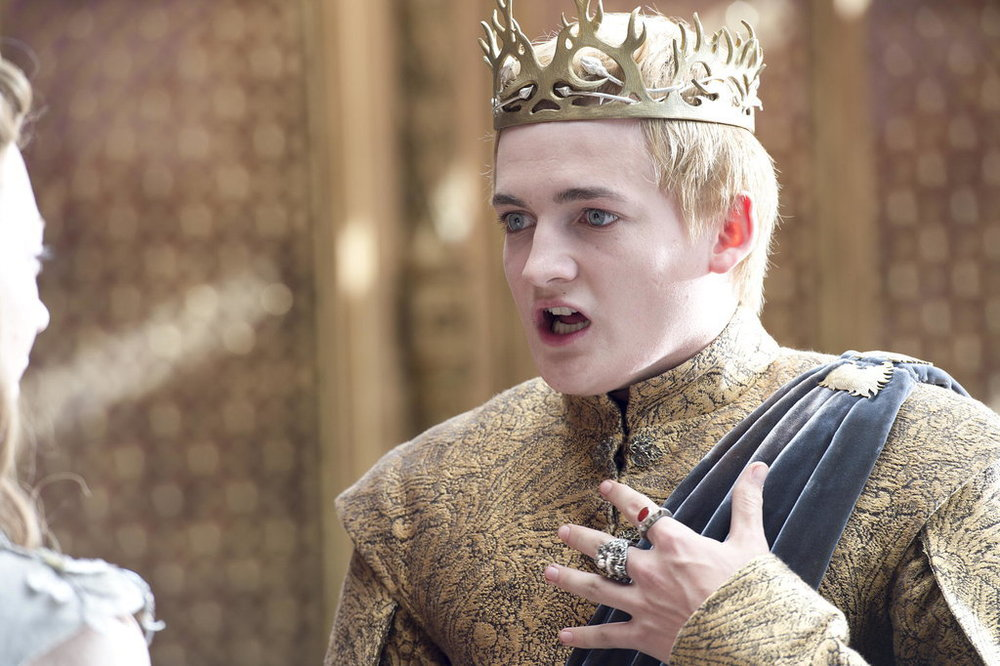 We all wanted Joffrey dead, nay we needed him dead. But talk about a brutal way to go!