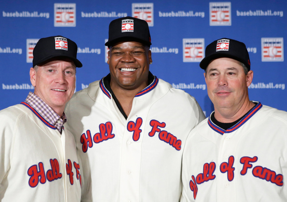 Three deserving men were elected in to the Baseball Hall of Fame in 2014. But the voting system is still flawed and so are the old-time voters in charge of admission.