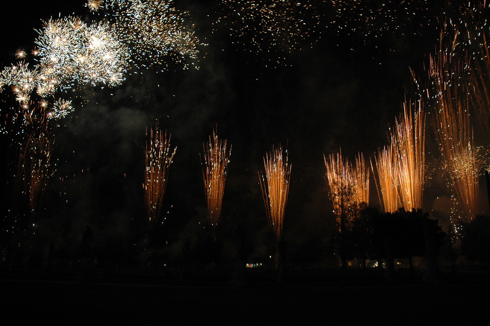 Ferragosto fireworks display
