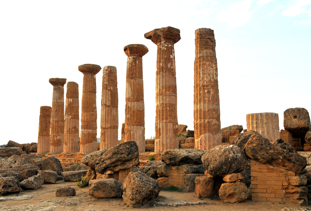 Temple of Hercules, Agrigiento Photo by  Dennis Jarvis  /  CC BY-SA 2.0