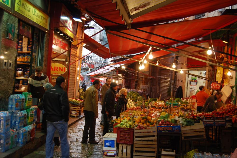 Ballarò market, Palermo