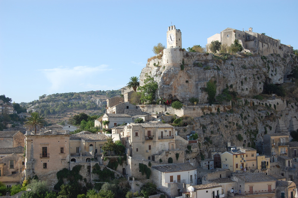 Castle of Modica Photo by  Nitto2  /  CC BY-SA 3.0