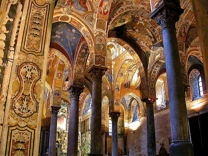 La Martorana, Palermo