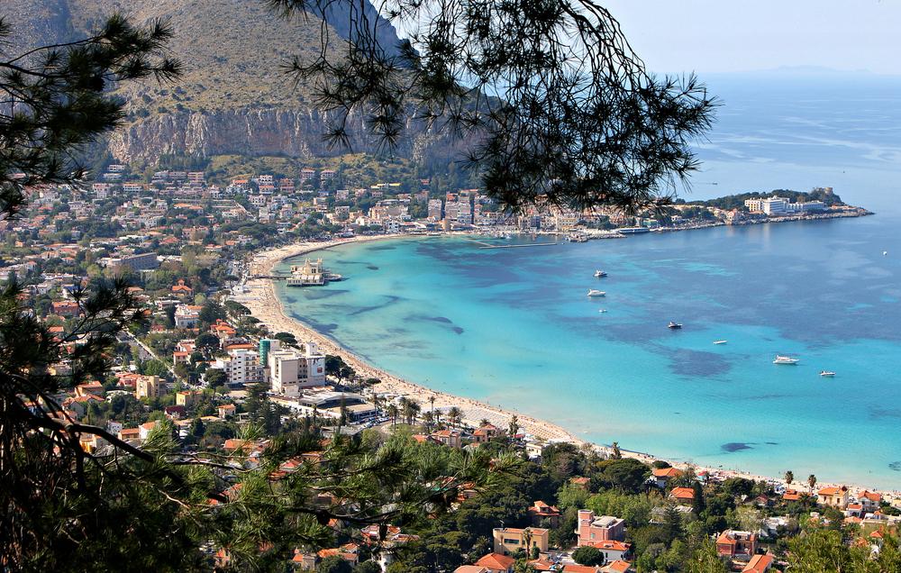 Palermo: il golfo di Mondello