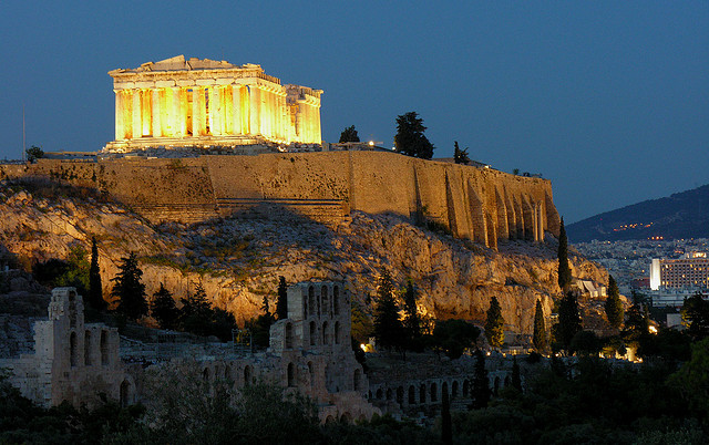 Temple of Athena (Parthenon), Athens