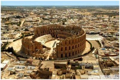 El-Djem, Roman Thysdrus, Tunisia
