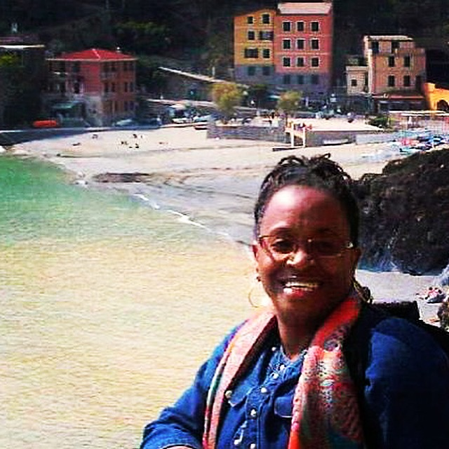Monica, ITMI Alumni 2010 touring in the Cinque Terre, Italy