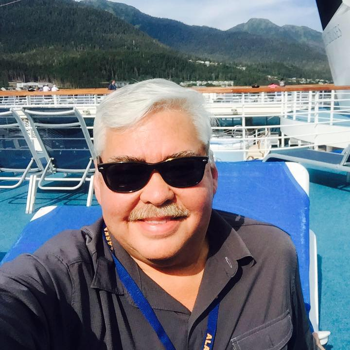 Chuck, ITMI Alumni 2010, cruising Alaska with Collette