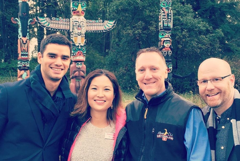 ITMI Certified Tour Director Alumni - Anand, Mary, Dave & Jay on tour in Alaska