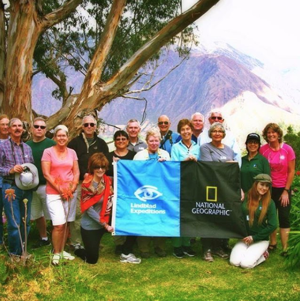 ITMI Alumni Lucero in Peru with National Geographic