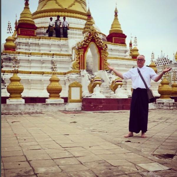 ITMI Alumni Steve in Myanmar