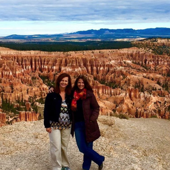 ITMI Alumni Becky & Ellen touring in the National Parks