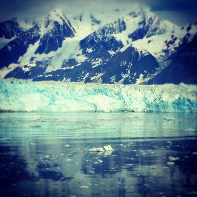 Hubbard Glacier #ItAllStartedWithITMI #itmitourtraining #alaska ##becomeatourguidebecause