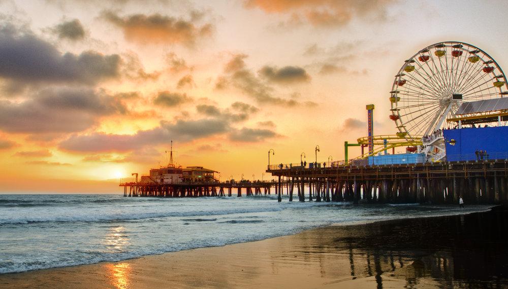 southern California tour guide Santa Monica
