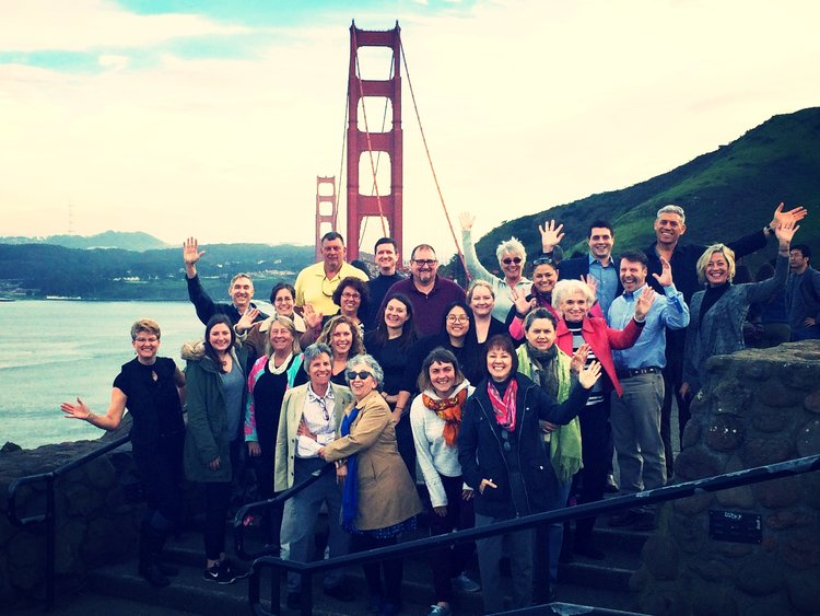 ITMI Class #313 at the Golden Gate Bridge in San Francisco - 2017
