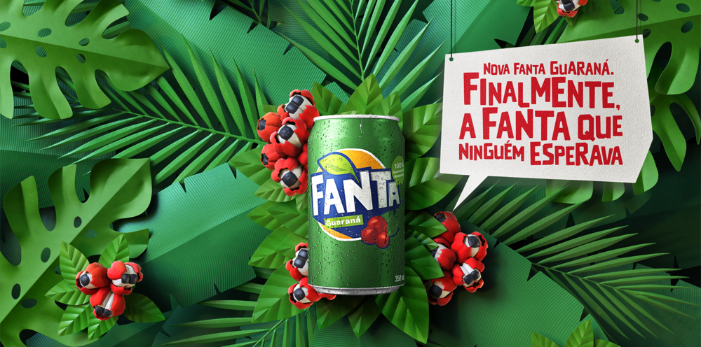 """The new Fanta Guaraná. Finally, the Fanta no one was expecting."""