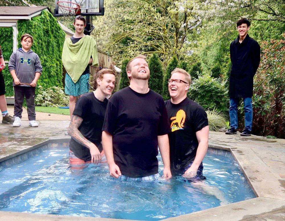 BAPTISMS - AT RAIN CITY CHURCH