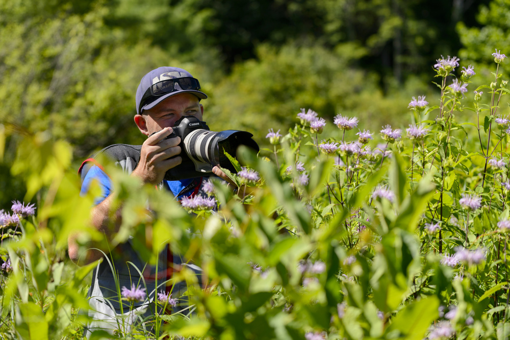 Photographer in the wild. Photo by Wes Duenkel | www.wesduenkel.com