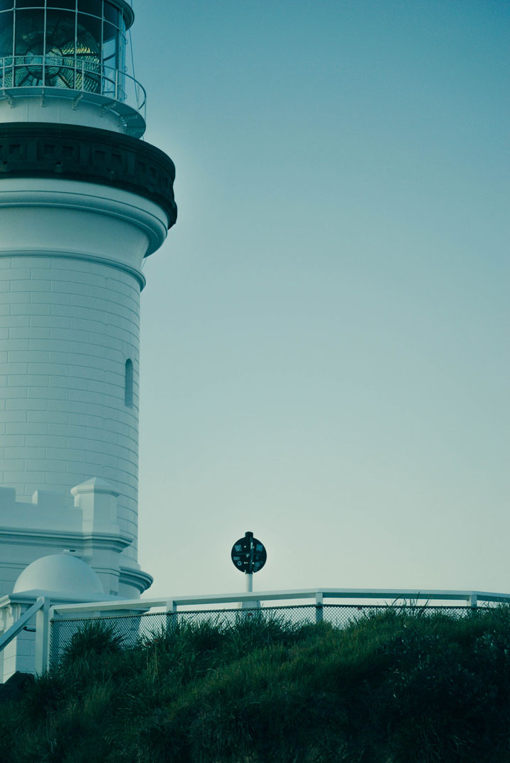 byron bay lighthouse. completed 1901. on autopilot since '89