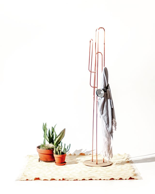 autumn's clear days and warm waters make for perfect snorkeling and picnic escapes. Introducing the Crib Life Sa'Prick coat and jacket stand, a playful addition inspired by what grows in our garden 🌵 constructed from copper and oak